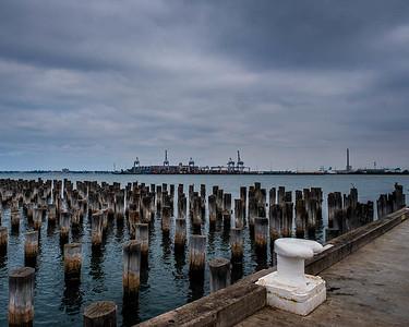 Grey Day - Port Melbourne