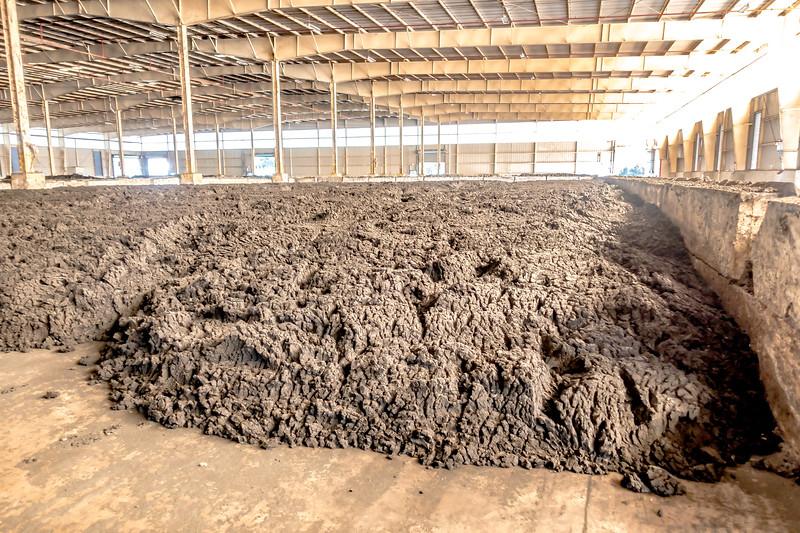 biosolids sludge storage ready for fram land