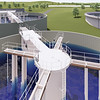 Wastewater treatment plant Water tank 3d model