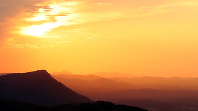 DA118,DT,Mount Scott Sunset