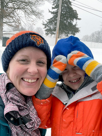 Meghan Rewers and son James, 6.<br /> Submitted by Meghan Rewers