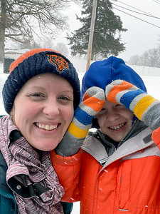Meghan Rewers and son James, 6. Submitted by Meghan Rewers