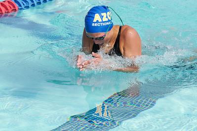 Chloe Hickman - 200m IM prelims - 2021 Sectionals - Fullerton