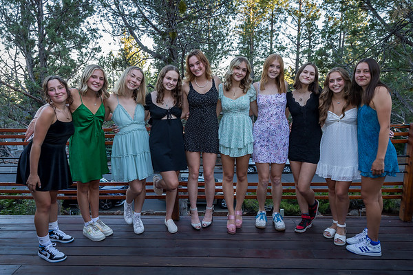 Megan & Friends Senior Prom