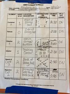 2021-03-14 Asheboro, NC NW3 Element Summary Sheet
