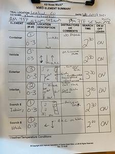 Sun Oct  17, 2021, Loveland, Co, NW3- ELement summary sheet