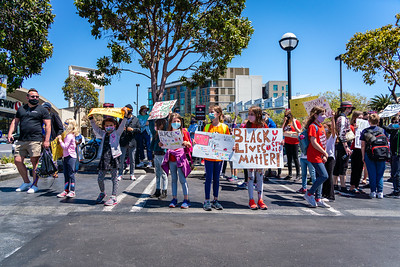 San Francisco Students and Parents March Against Racism