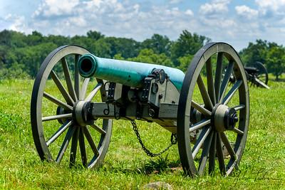 Napoleon cannon at Cemetery Hill