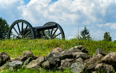 Cannon at Cemetery Hill