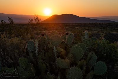 Desert Sunrise, Big Bend National Park, Texas