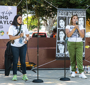 19, Sisters of Sean Monterrosa (killed June 2020 in Vallejo) express their grief