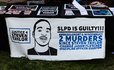 30  Another sign seeking justice for Steven Taylor