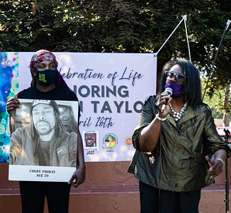 20  Mother of Colby Friday (killed August 2016 in Stockton) traveled to speak of her support