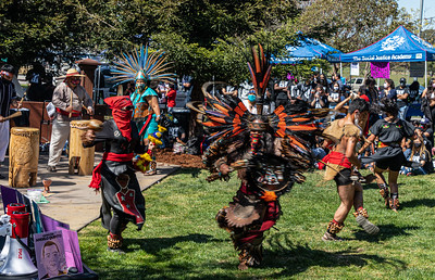 2  Another view of the Aztec dancers