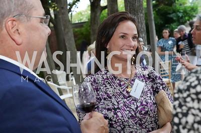 Heather Florance. Photo by Tony Powell. 2021 Embassy Social Secretaries & Cultural Attachés Reception. Meridian Intl Center. August 11, 2021