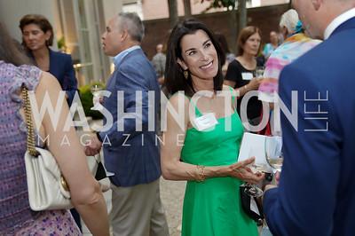 Tracy Bernstein. Photo by Tony Powell. 2021 Embassy Social Secretaries & Cultural Attachés Reception. Meridian Intl Center. August 11, 2021