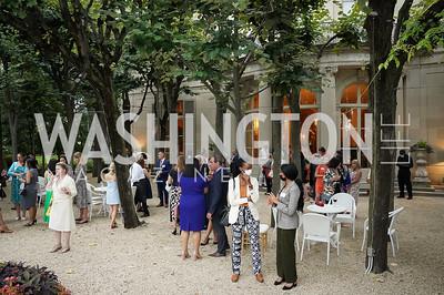 Photo by Tony Powell. 2021 Embassy Social Secretaries & Cultural Attachés Reception. Meridian Intl Center. August 11, 2021