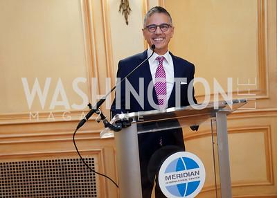 White House Social Sec. Carlos Elizondo. Photo by Tony Powell. 2021 Embassy Social Secretaries & Cultural Attachés Reception. Meridian Intl Center. August 11, 2021