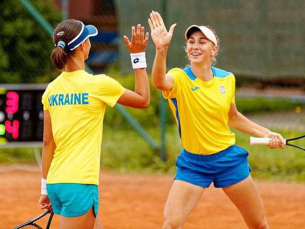 03 02g Doubles - Ukraine- 2021 European Summer Cups Girls 16 Finals