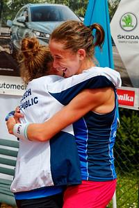 01 01i Celebrating - Czech Republic - 2021 European Summer Cups Girls 16 Finals