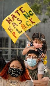 Anti Asian Hate Rally, Palo Alto