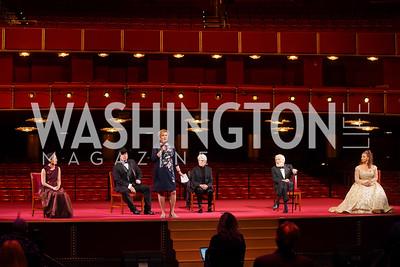 Midori, Garth Brooks, Deborah Rutter, Joan Baez, Dick Van Dyke, Debbie Allen. Photo by Tony Powell. 2021 Kennedy Center Honors. May 21, 2021