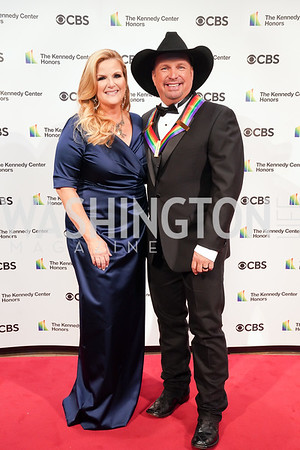 Tricia Yearwood and  Garth Brooks. Photo by Tony Powell. 2021 Kennedy Center Honors. May 21, 2021
