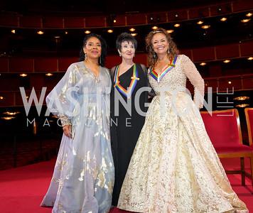 Phylicia Rashad, Chita Rivera, Debbie Allen. Photo by Tony Powell. 2021 Kennedy Center Honors. May 21, 2021