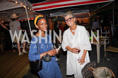 Ashleigh Pearson, Amy Kaslow. Photo by Tony Powell. 2021 Transformer Collector's View Series Launch Party. Comet Ping Pong. June 8, 2021