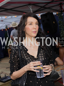Jennifer Sakai. Photo by Tony Powell. 2021 Transformer Collector's View Series Launch Party. Comet Ping Pong. June 8, 2021
