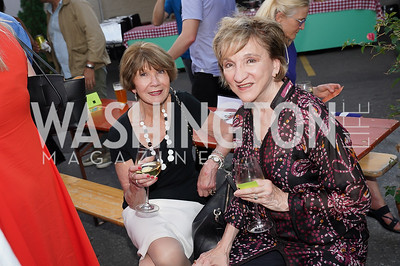 Donna Evers, Marion Blakey. Photo by Tony Powell. 2021 Transformer Collector's View Series Launch Party. Comet Ping Pong. June 8, 2021