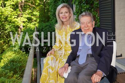 Jane and Calvin Cafritz. Photo by Tony Powell. WNO POPera. Cafritz Residence. May 18, 2021