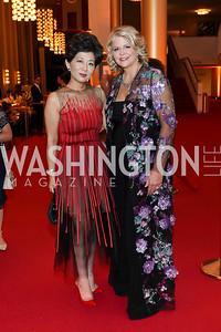Michele Kang, Susan Graham. Photo by Tony Powell. 2021 WNO Gala. Kennedy Center. June 12, 2021