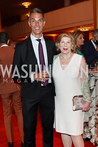 Ari Shapiro, Nina Totenberg. Photo by Tony Powell. 2021 WNO Gala. Kennedy Center. June 12, 2021
