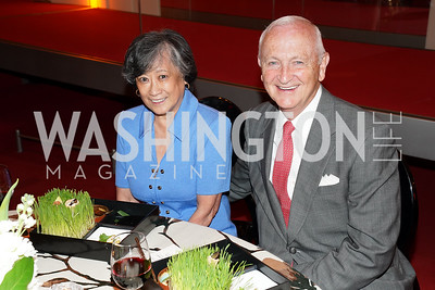Janet and Bob Sloan. Photo by Tony Powell. 2021 WNO Gala. Kennedy Center. June 12, 2021