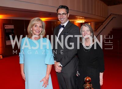 Elizabeth von Hassel, Patrick Mühlen-Schulte, Virginia Friend. Photo by Tony Powell. 2021 WNO Gala. Kennedy Center. June 12, 2021