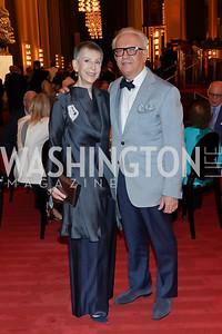 Irene Roth and Vicken Poochikian. Photo by Tony Powell. 2021 WNO Gala. Kennedy Center. June 12, 2021