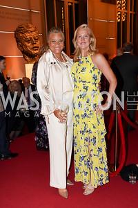 Jovita Gross Rogers, Anne Kline Pohanka. Photo by Tony Powell. 2021 WNO Gala. Kennedy Center. June 12, 2021