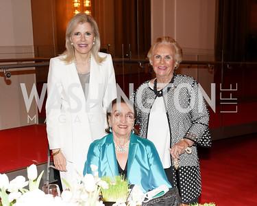 Jane Cafritz, Lucky Roosevelt, Jacqueline Badger Mars. Photo by Tony Powell. 2021 WNO Gala. Kennedy Center. June 12, 2021