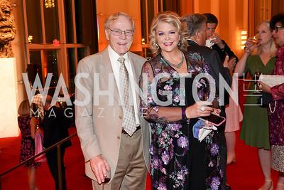 Jan Lodal, Susan Graham. Photo by Tony Powell. 2021 WNO Gala. Kennedy Center. June 12, 2021
