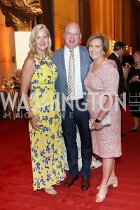 Anne Kline Pohanka, Peter Ellefson, Deborah Rutter. Photo by Tony Powell. 2021 WNO Gala. Kennedy Center. June 12, 2021