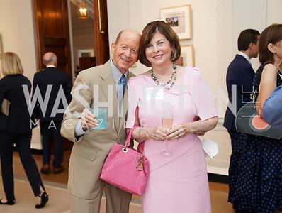 William and Karen Schuiling. Photo by Tony Powell. 2021 culturefix. Meridian International Center. June 9, 2021