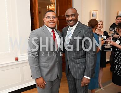 Sean Payne, Reggie Van Lee. Photo by Tony Powell. 2021 culturefix. Meridian International Center. June 9, 2021