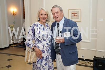 Mary & John Walsh. Photo by Tony Powell. 2021 culturefix. Meridian International Center. June 9, 2021