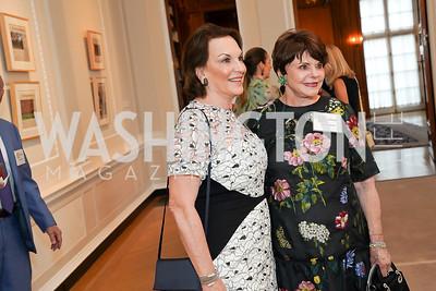 Grace Bender, Marlene Malek. Photo by Tony Powell. 2021 culturefix. Meridian International Center. June 9, 2021
