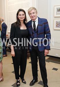 Amanda Ameer, Jean-Yves Thibault. Photo by Tony Powell. 2021 culturefix. Meridian International Center. June 9, 2021