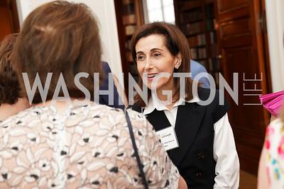 Jordan Ambassador Dina Kawar. Photo by Tony Powell. 2021 culturefix. Meridian International Center. June 9, 2021