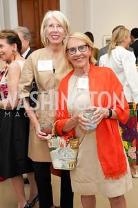 Winton Holladay, Marcia Carlucci. Photo by Tony Powell. 2021 culturefix. Meridian International Center. June 9, 2021
