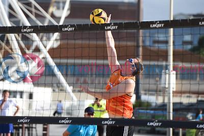 UKBT Bournemouth Grand Slam Finals, Bournemouth Beach, 11 September 2021.  © Lynne Marshall  https://www.volleyballphotos.co.uk/2021/2021/Grand-Slam-Finals-Day-1/