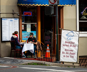 Table for Two - Outdoor dining only - San Francisco